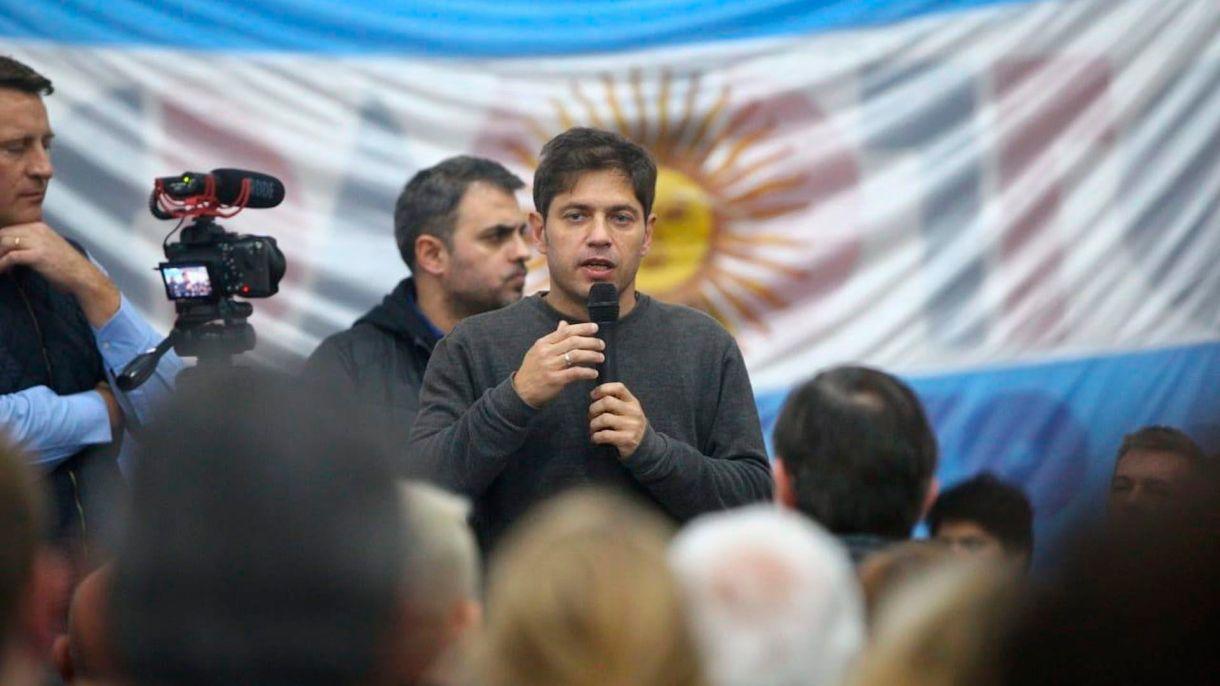 Kicillof retoma sus visitas al interior de la provincia de Buenos Aires