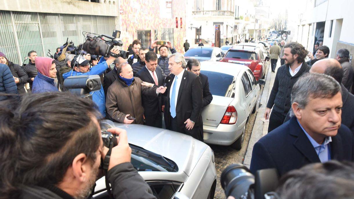 La semana pasada Alberto Fernández juntó a los gobernadores del PJ (Franco Fafasuli)