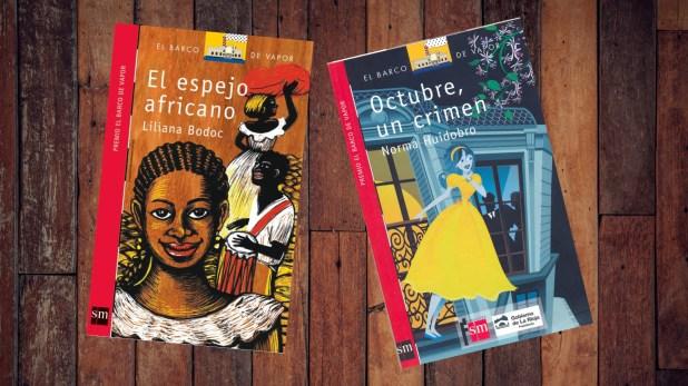 """""""El espejo africano"""" de Liliana Bodoc y """"Ocubre, un crimen"""" de Norma Huidobro"""