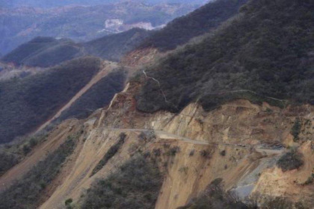 La zona serrana de Badiraguato, Sinaloa