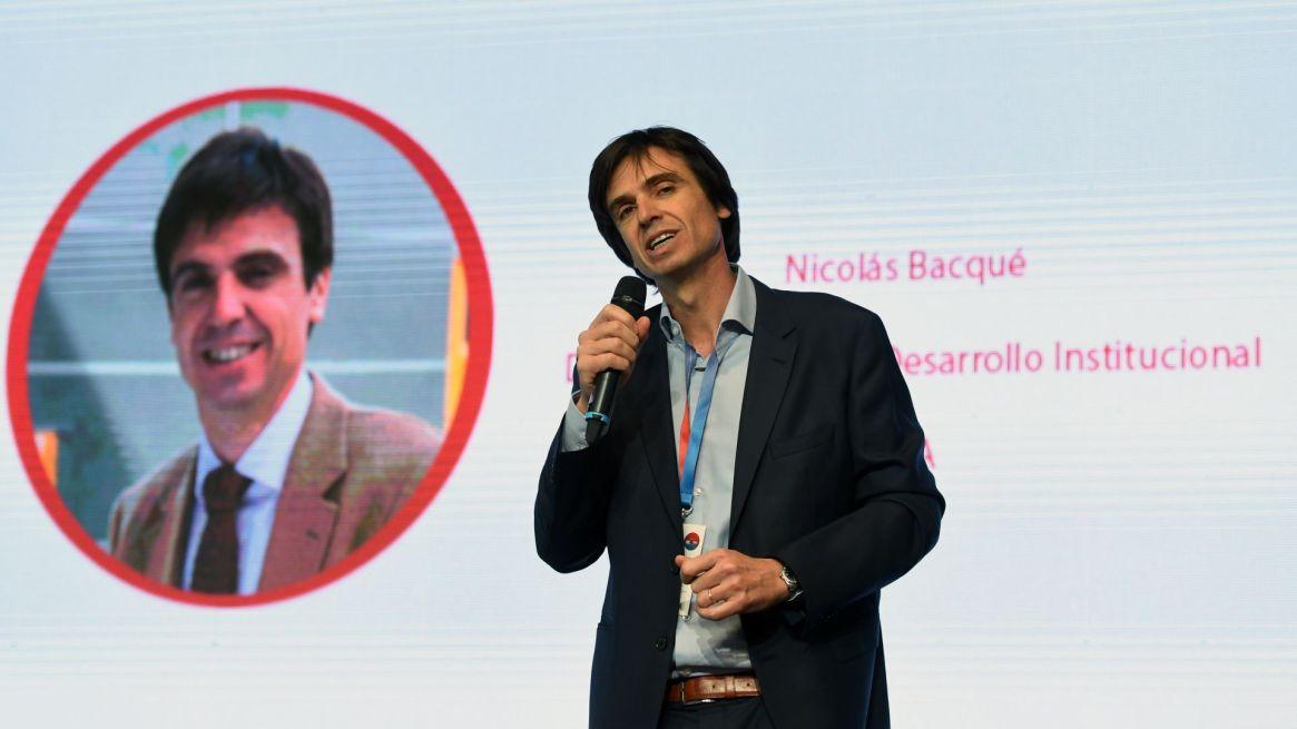 Nicolás Bacqué, Director General de Desarrollo Institucional del ITBA, destacó el caracter social de los proyectos