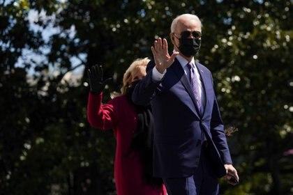 El presidente Joe Biden y su esposa Jill. REUTERS/Erin Scott