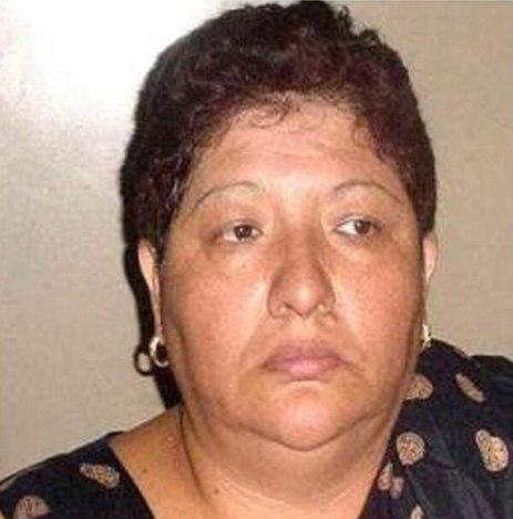 """Delia Patricia Buendía, """"La Ma Baker"""". La ex líder del Cártel de Neza está hoy presa en el penal de Santiaguito."""