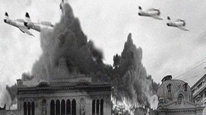 El bombardeo a la Plaza de Mayo del 16 de junio de 1955