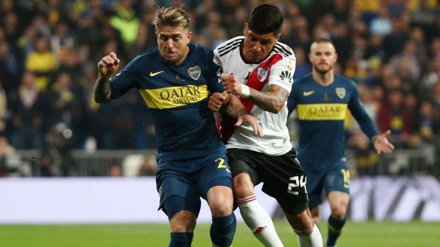 Buffarini eligió a Exequiel Palacios como el mejor jugador del fútbol argentino (REUTERS/Sergio Perez)
