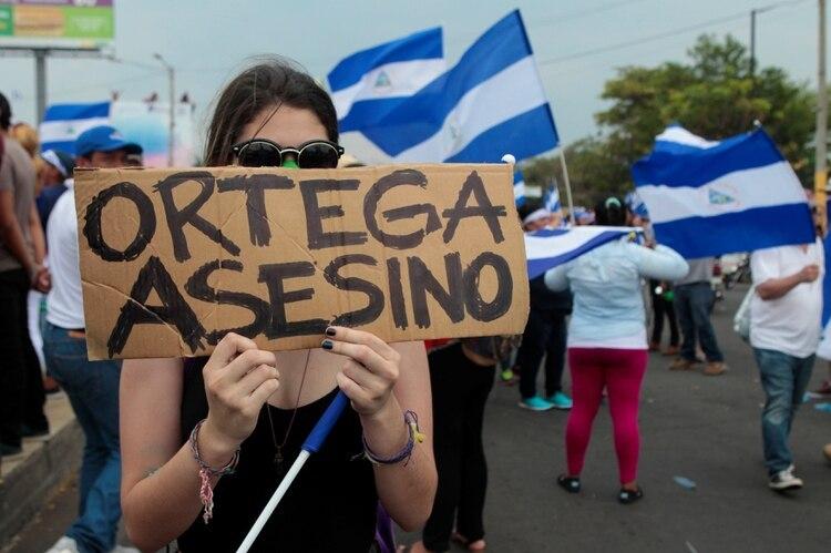 Las manifestaciones contra el régimen de Daniel Ortega en Nicaragua comenzaron el 18 de abril de 2018 (REUTERS/Oswaldo Rivas)