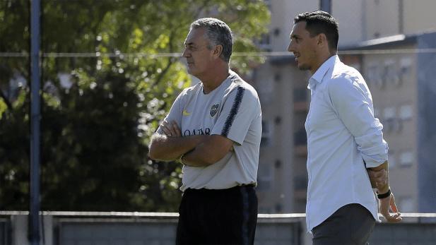Nicolás Burdisso habló sobre el presente del club de la Ribera (@BocaJrsOficial)