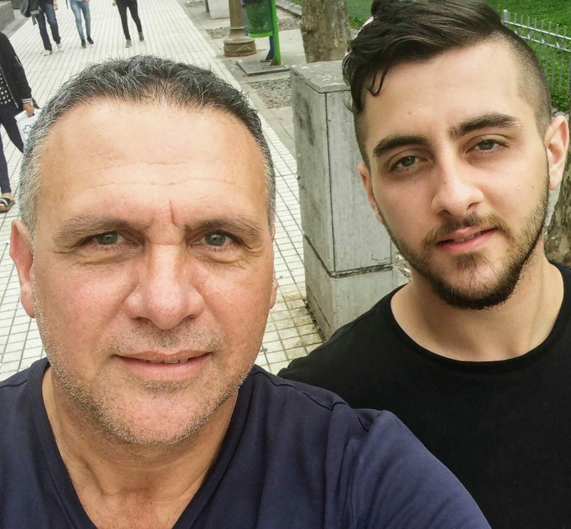 """Mauro y Ariel Federico, autores de """"Familia adicta"""". Foto: gentileza Familia Federico"""