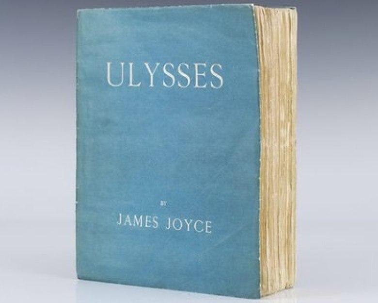 """Primera edición de """"Ulises"""" de James Joyce en 1922"""