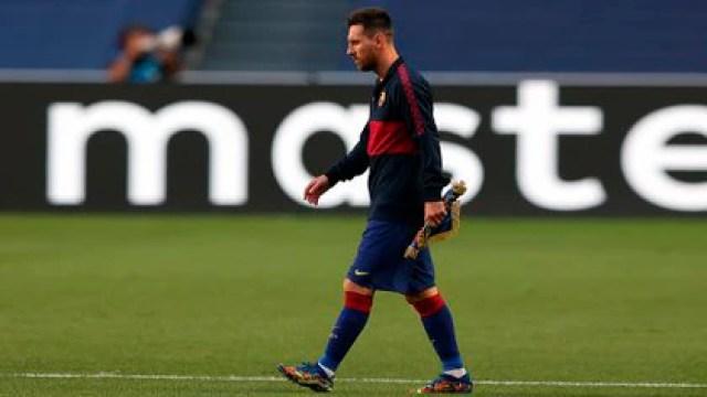 Messi comunicará su decisión (Foto: EFE)