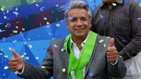 Moreno, luego de la confirmación de su triunfo en las elecciones