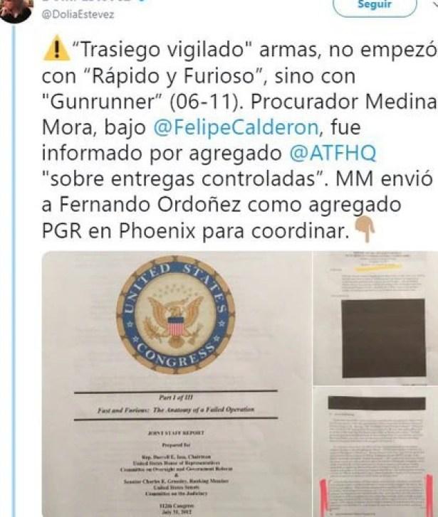 Eduardo Medina Mora también supo del trasiego ilegal de armas a México (Foto: Archivo)