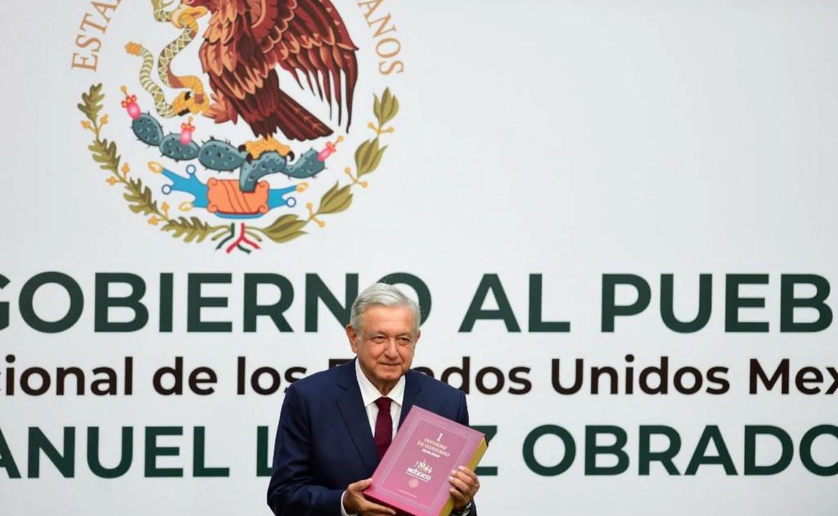 """""""La oposición está moralmente derrotada"""": las frases de Andrés Manuel López Obrador durante su Primer Informe de Gobierno"""