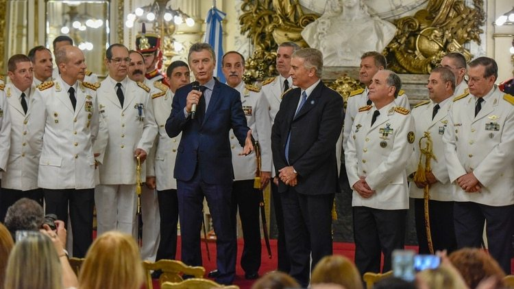 Macri junto a Aguad