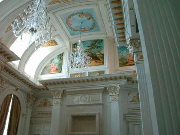 Interior del palacio de Vladimir Putin en el Mar Negro