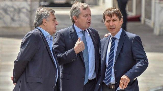 Los diputados Negri, Monzó y Lipovezky fueron los artífices de convencer al Gobierno de tratar el proyecto de la oposición (Adrian Escandar)