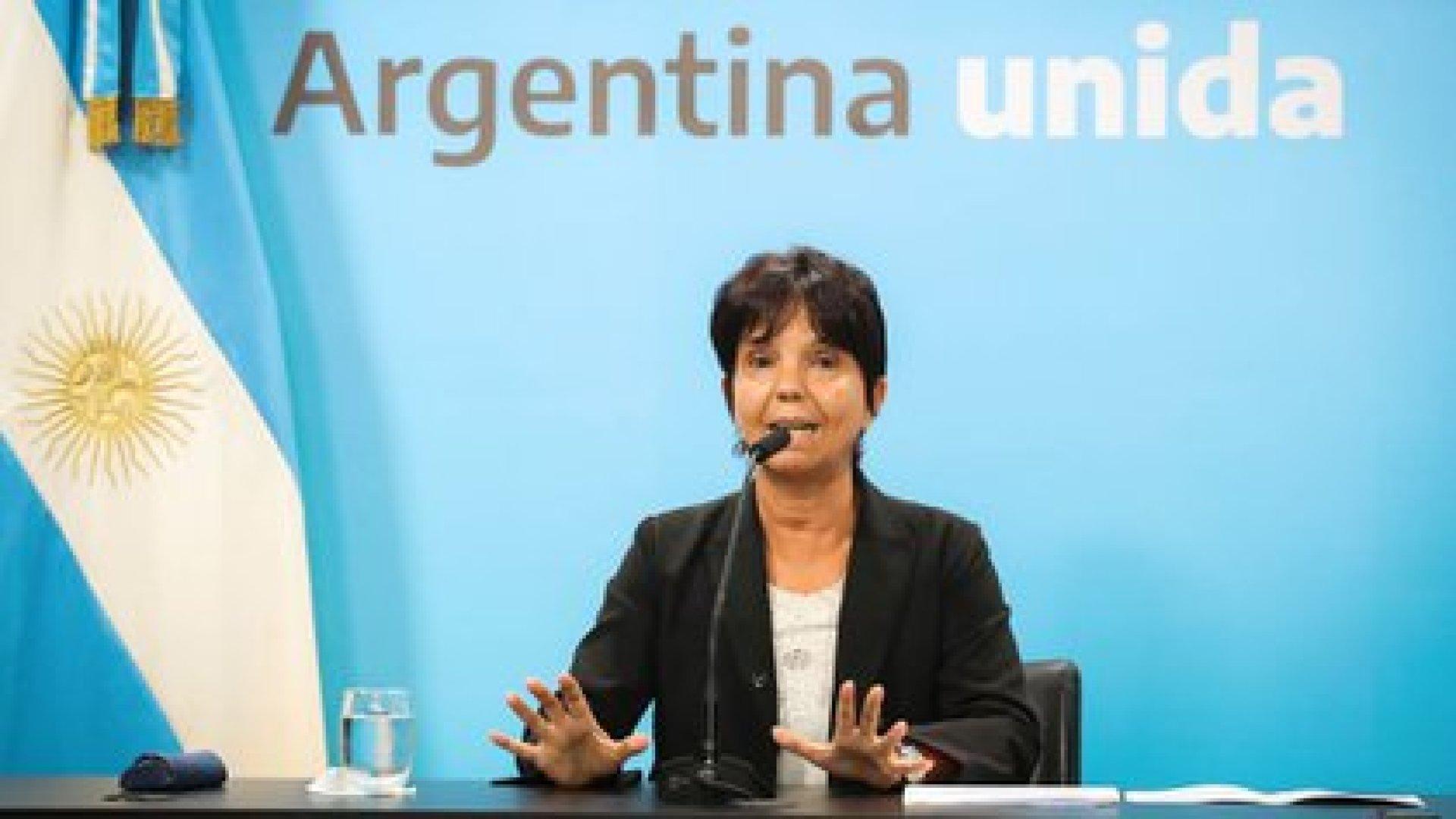 Mercedes Marcó del Pont, titular de la AFIP, todavía tiene que publicar una resolución general con más detalles operativos sobre el impuesto