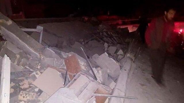 En Darbandikhan se registraron destrozos (@AramKrdstn)