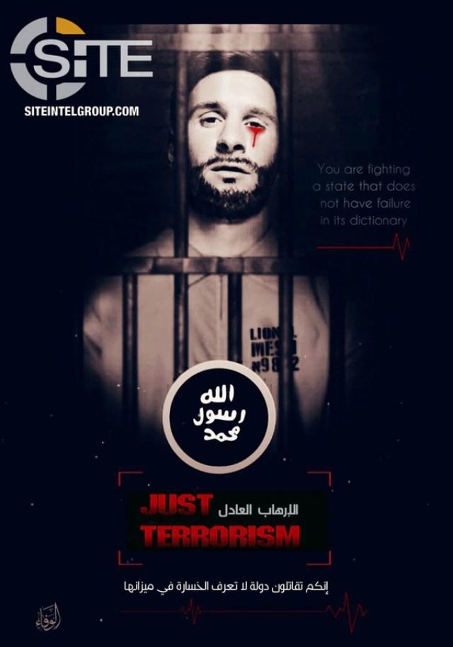 La amenaza de ISIS contra Lionel Messi
