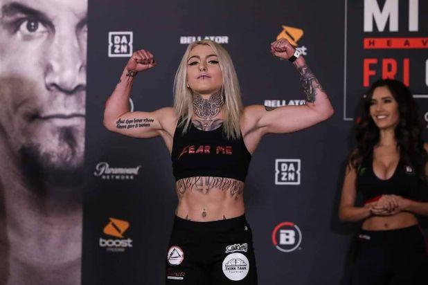 La luchadora cayó en el primer round frente a Elise Reed (Instagram)
