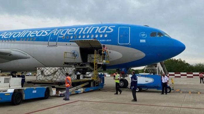 VACUNAS AA aerolineas argentinas