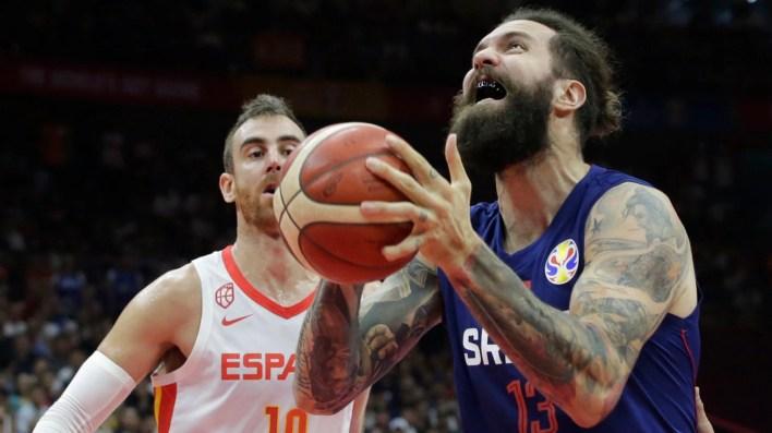 Serbia cayó con España y jugará ante Argentina los cuartos de final del Mundial de China (Foto:REUTERS/Jason Lee)