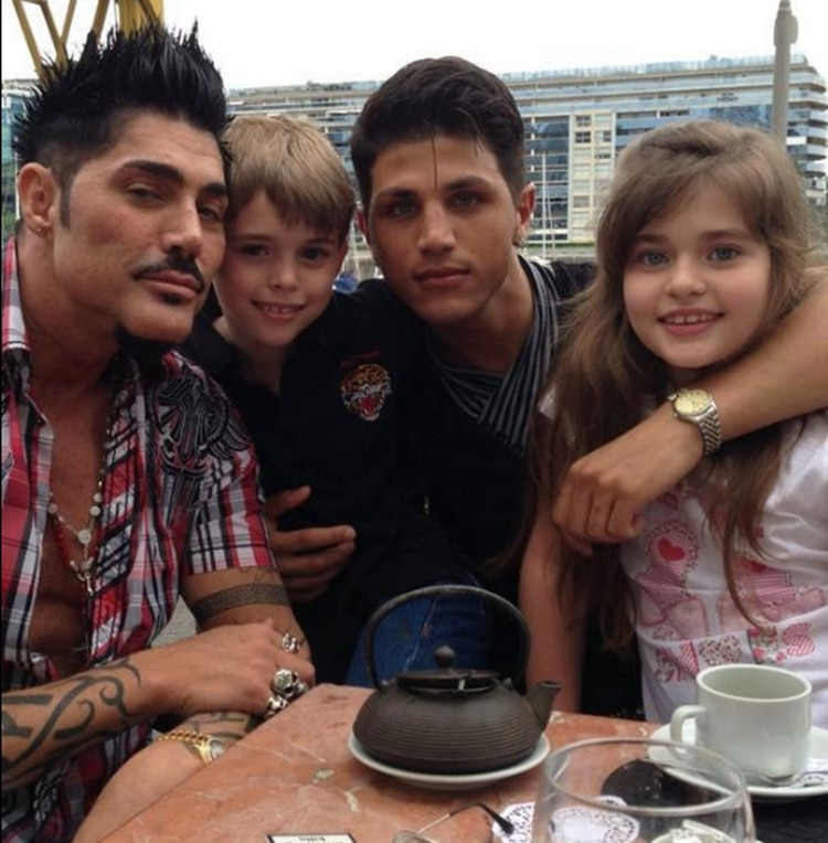 Rodrigo Díaz, Ricardo, Martita y Felipe Fort (Facebook)