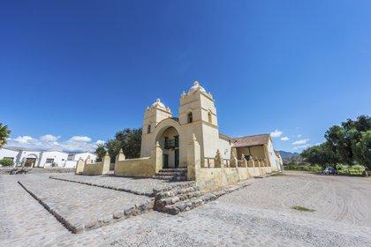 Molinos es una pequeña localidad que se encuentra ubicada en el extremo sudoeste de la provincia de Salta (Shutterstock)