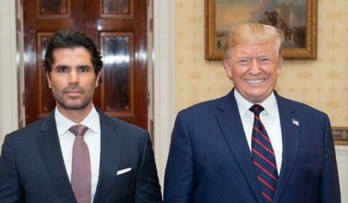 Eduardo Verástegui and Donald Trump (IG: eduardoverastegui)