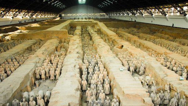 Son 8.000 guerreros de terracota esculpidos en tamaño real (IStock)