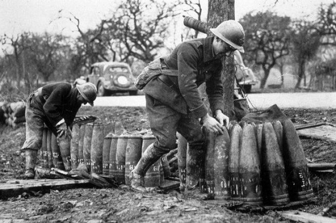 Soldados durante la Segunda Guerra Mundial (Getty)
