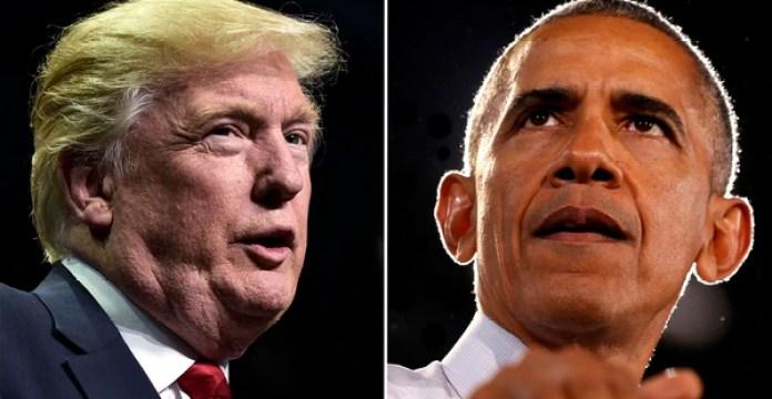 Donald Trump y Barack Obama (Reuters)