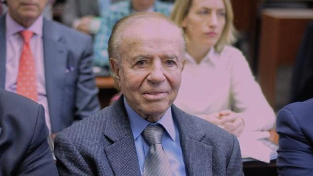 Carlos Menem en el juicio por la Sociedad Rural (Patricio Murphy)