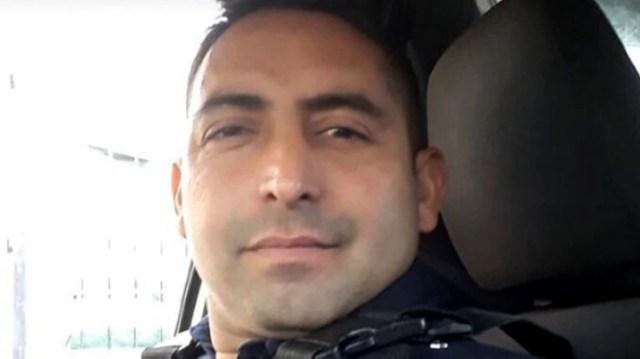 El oficial herido fue identificado como Oscar Martín Cejas (@GermanMonaco)