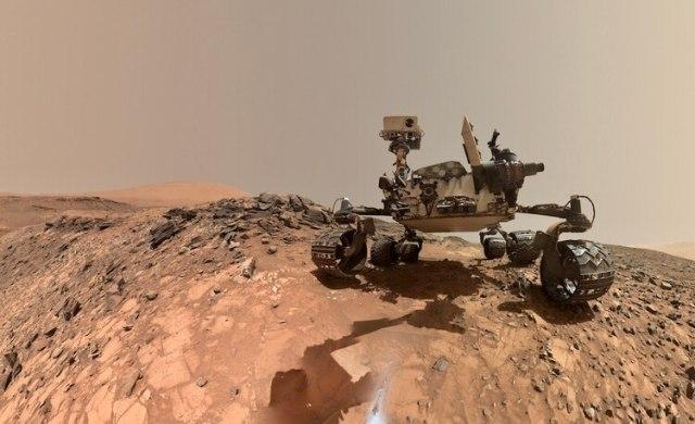Hoy Marte es recorrido por algunos robots de la NASA