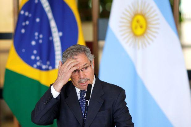 Felipe Solá, ministro de Relaciones Exteriores