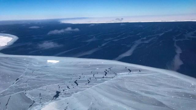 La parte oriental de la Antártida también se está viendo afectada por este fenómeno