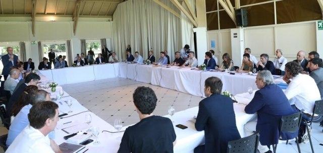 Alberto Fernández estuvo con los intendentes de la provincia de Buenos Aires evaluando el impacto de las medidas