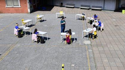 Actividades de revinculación fuera de las aulas en la Ciudad (Maximiliano Luna)