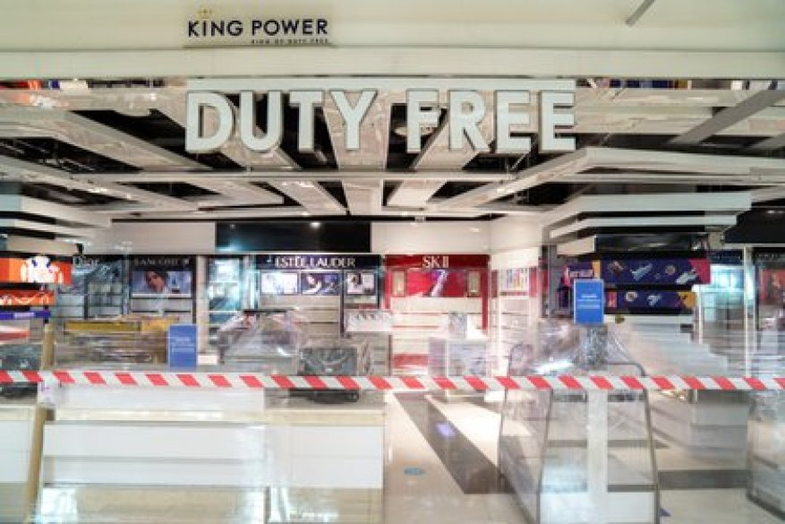 A local of the Duty Free chain at Bangkok Airport (REUTERS / Athit Perawongmetha / File Photo)
