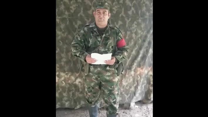 Darío Antonio Úsuga, Alias Otoniel, líder de las Autodefensas Gaitanistas de Colombia, también conocidas como Clan del Golfo,