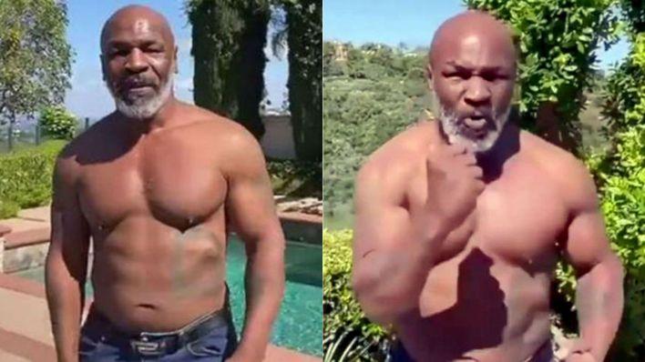 Tyson entrenamiento