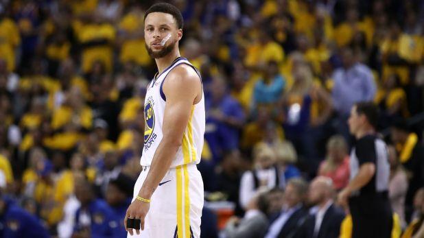 Stephen Curry es considerado uno de los mejores tiradores en la historia de la NBA, pero para Jordan todavía no merece ser elegido para el Salón de la Fama del básquet (AFP)