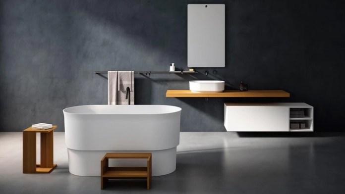 Bañeras modernas para hacer en casa un baño de pura relajación