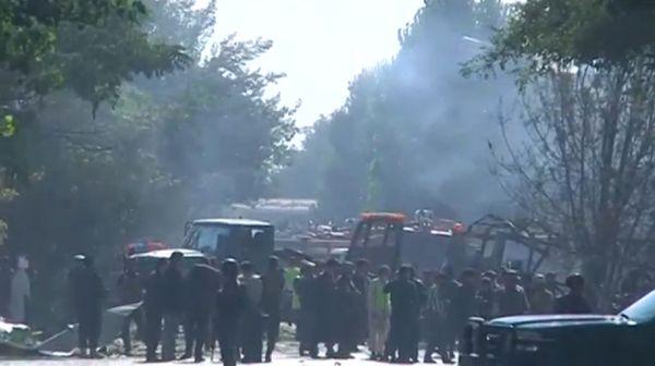 El lugar del atentado (Reuters)