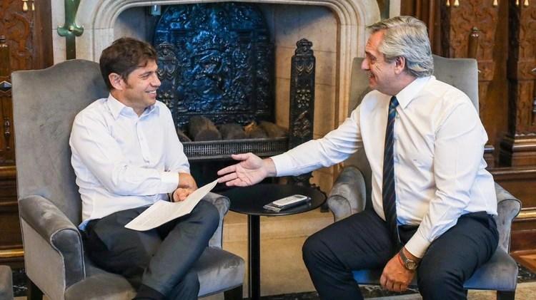 Alberto Fernández y Axel Kicillof tienen buena relación, al margen de ciertas diferencias sobre la negociación de la deuda provincial y los supuestos presos políticos