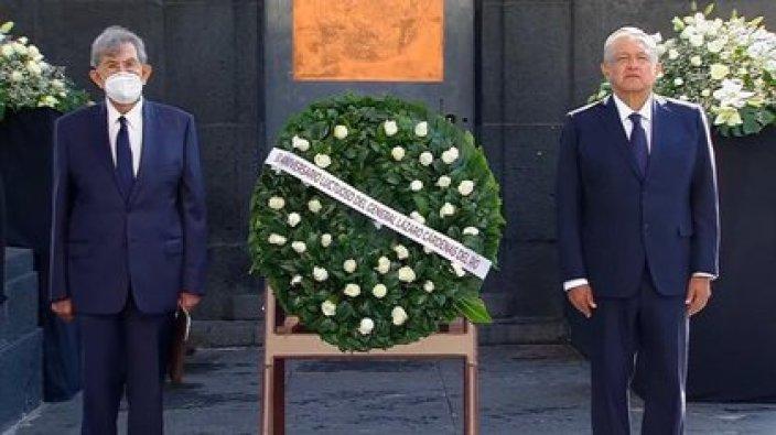 Este lunes se conmemoró el 50 aniversario de la muerte del general Lázaro Cárdenas del Río, presidente de México de 1934 a 1940 (Foto: Presidencia de México)