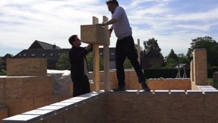 Los bloques se ensamblan sin necesidad de otros materiales (Facebook: Gablok)