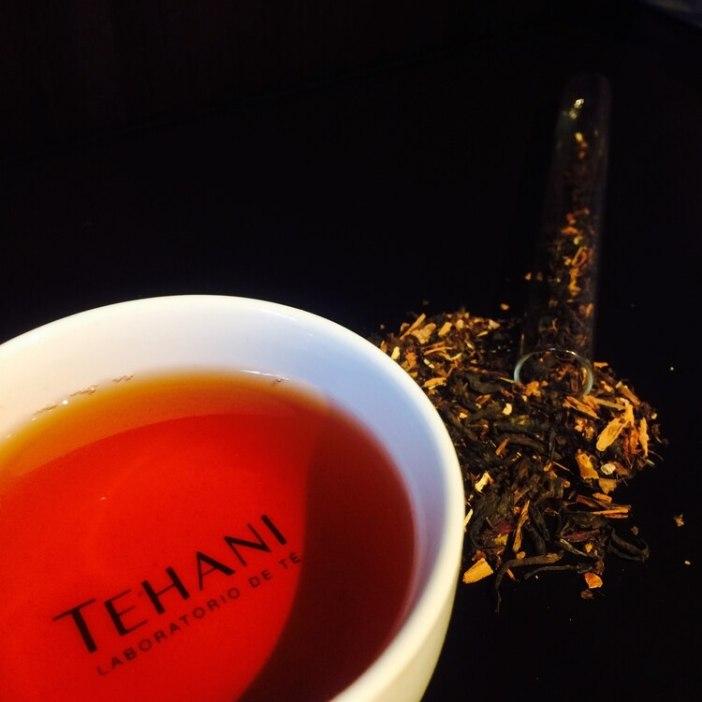 Las hebras de los té de tehani, que son elaboradas en Misiones