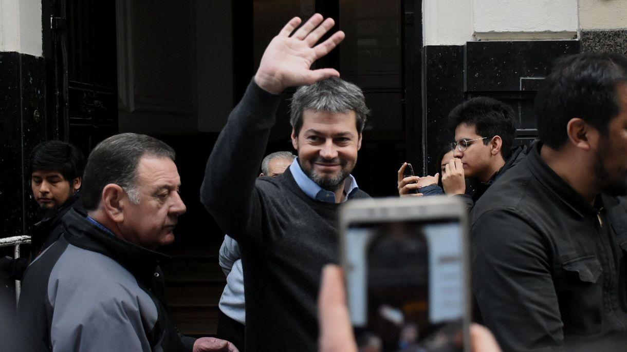 Lammens recibió un espaldarazo el domingo y lo invitaron a charlar con CFK (Nicolás Stulberg)